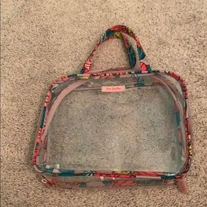 Vera Bradley Clear Makeup Bag